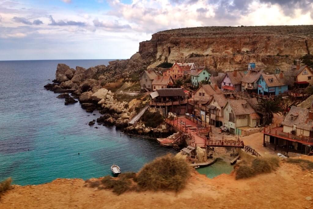 Деревня моряка Попая Мальта