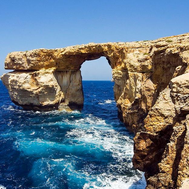 Достопримечательности Мальты: Лазурное окно, Божественная арка