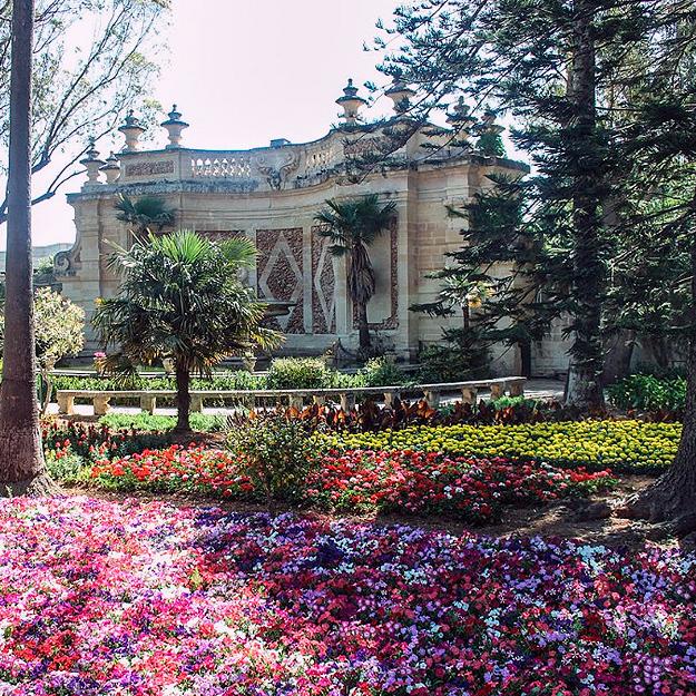 Достопримечательности Мальты: Ботанический сад Святого Антония
