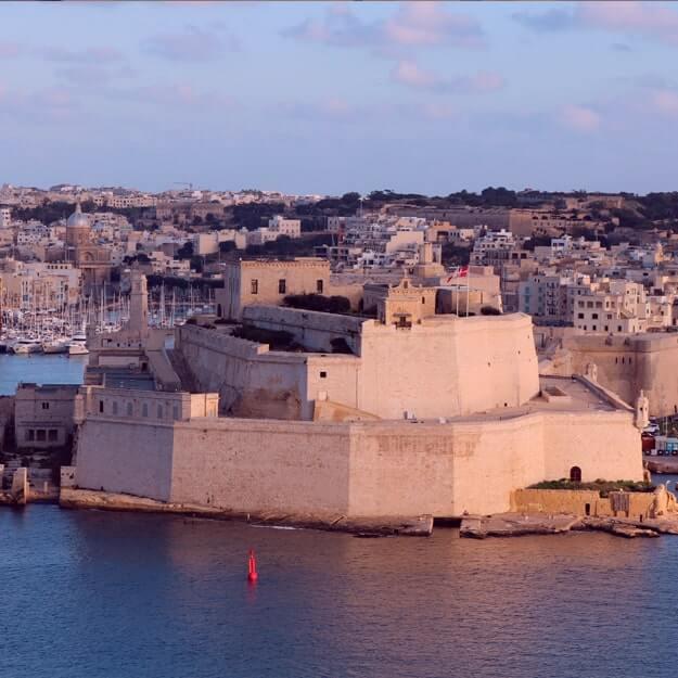 Достопримечательности Мальты: форт Святого Ангела