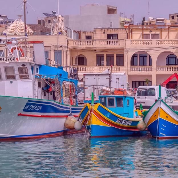 Достопримечательности Мальты: рыбацкая деревня Марсашлок