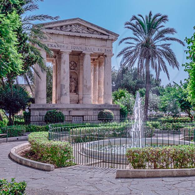 Достопримечательности Мальты - Городской парк Валлетты