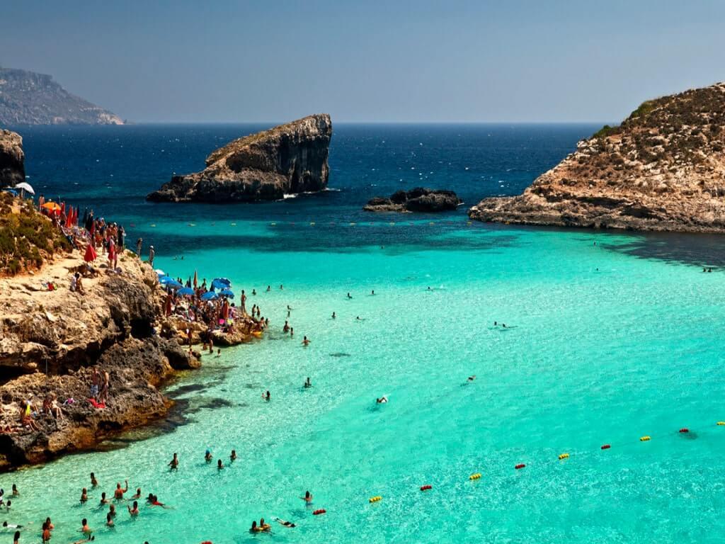 Остров Комино Мальта