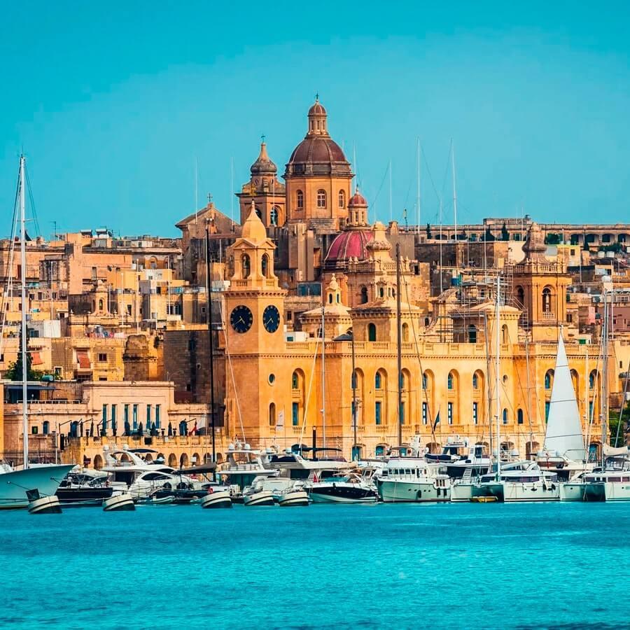 Мальтийские Три города Марсашлокк + Голубой грот + Мегалитический храм - экскурсия на русском языке