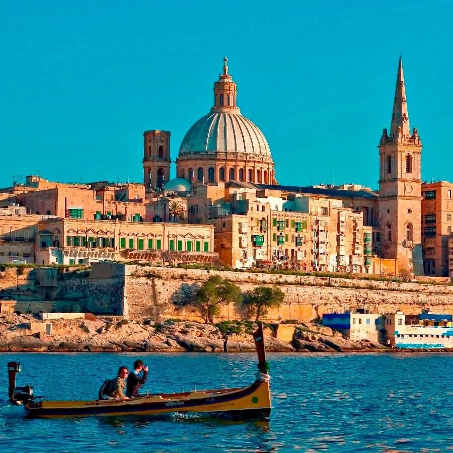 Валетта - столица Мальты - групповая экскурсия на русском языке